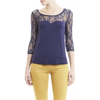 Lee Cooper - Alma - Top - blu scuro