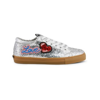 Love Moschino - Scarpard.SP105 - Baskets - argenté