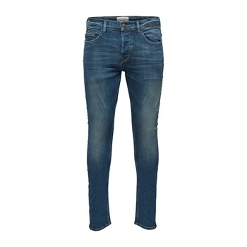 Only & sons - Jeans mit Slimcut - jeansblau