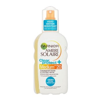 Garnier - Ambre Solaire - Clear Protect Spray LSF20 - 200 ml