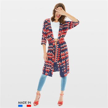 BrandAlley La Collection - Lory - Veste kimono - marineblau