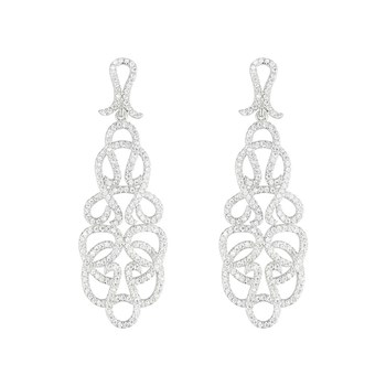 Silver Addict - Arabesque Fever - Orecchini in argento 925 - argentato