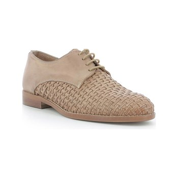 Kickers - Tufou - Leren derbies - beige