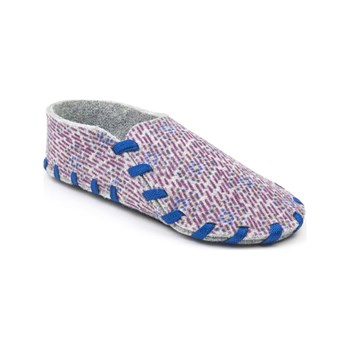 lasso shoes - Chaussons en laine - bleu