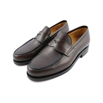 Exclusif Paris - Lord - Mocassins en cuir - marron