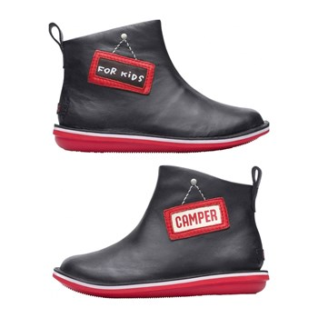 Camper - Twins - Bottines en cuir - noir