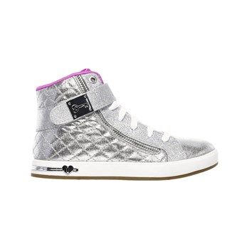Skechers - Shoutouts - quilted crush - Baskets - argent