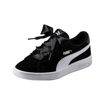 Puma - Smash - Baskets en cuir - noir