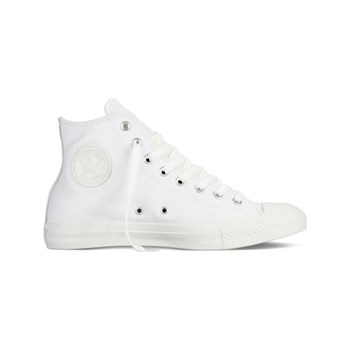Converse - Chuck Taylor All Star Leather Hi - Ledersneakers - weiß