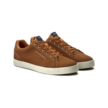 Pepe Jeans Footwear - North basic - Sneakers con inserti in pelle - cammello
