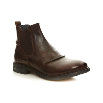 Bunker - One - Boots en cuir - marron clair