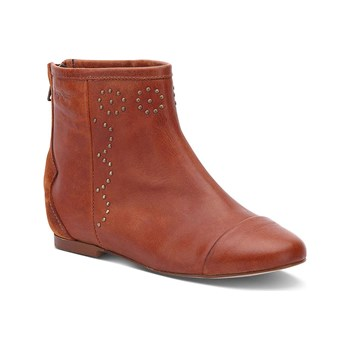 Pepe Jeans Footwear - Bowie - Bottines en cuir - orange