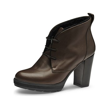 Evita - Bottines en cuir - marron