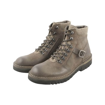 Exclusif Paris - Baker - Bottines en cuir - taupe