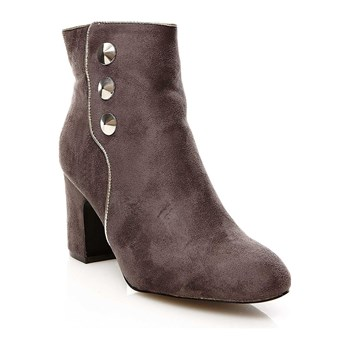 R and Be - Bottines - gris