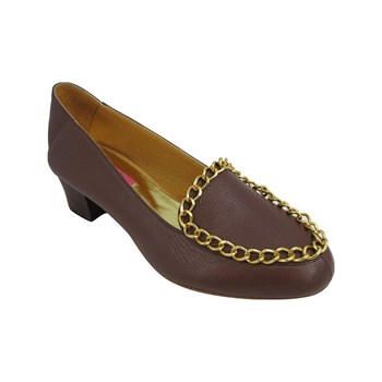 Pring Paris - New Emilie - Mocassins en cuir - chocolat