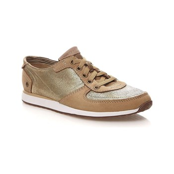 Hush Puppies - Chazy - Sneakers in pelle - bronzo