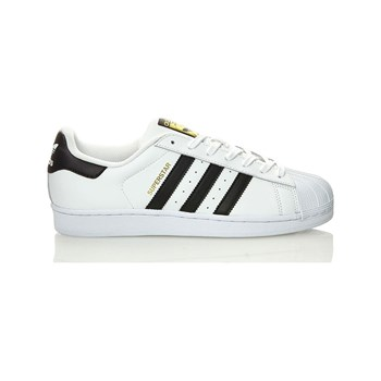 adidas Originals - Superstar - Baskets en cuir bi-matière - blanc