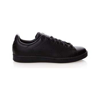 adidas Originals - Stan Smith - Baskets en cuir mélangé - noir