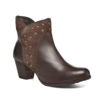 Hush Puppies - Kris - Bottines en cuir - marron