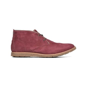 Hush Puppies - Roland - Stivaletti in pelle - bordeaux