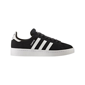 adidas Originals - Campus - Baskets en cuir mélangé - noir