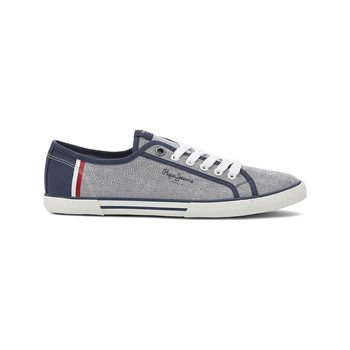 Pepe Jeans Footwear - ABERMAN - Baskets Mode - gris