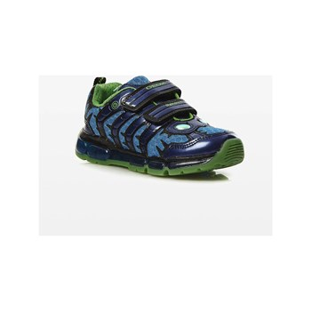 Geox - Android - Baskets - bleu marine