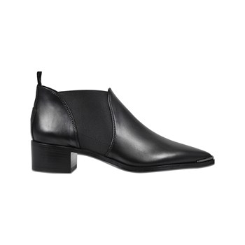 Acne - Jenny - Bottines en cuir - noir