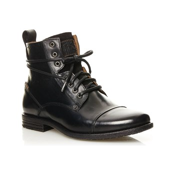Levi's - Emerson Lace Up - Lederboots - schwarz
