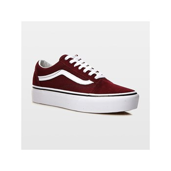 Vans - UA Old skool platform - Baskets - rouge