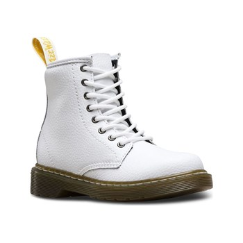 Dr Martens - Delaney - Bottines en cuir - blanc
