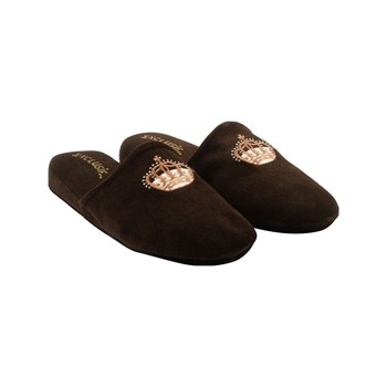 Exclusif Paris - Windsor - Chaussons en cuir - marron