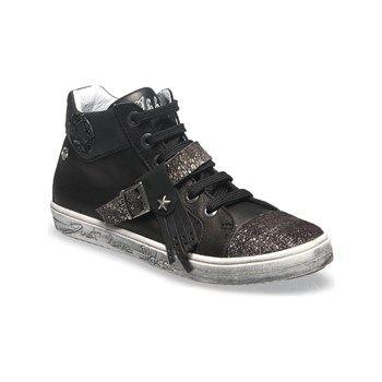Ikks shoes - Brenda - Baskets montantes en cuir - noir