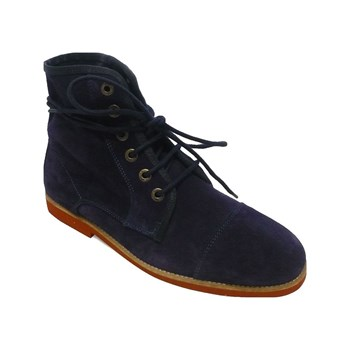 Studio - Jason - Bottines - en cuir bleu