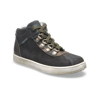 Ikks shoes - Isaac - Baskets montantes en cuir - gris