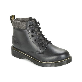 Dr Martens - Padley Mix - Bottines en cuir - gris