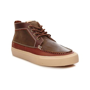 Pointer - Roger - Sneakers alte in pelle - ramato