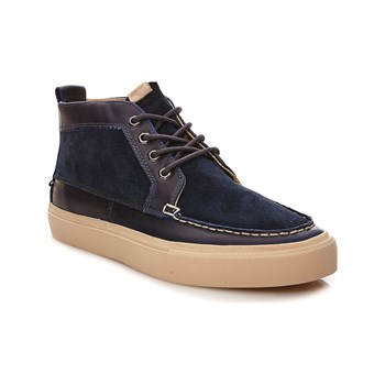 Pointer - Roger - Sneakers alte in pelle - blu scuro