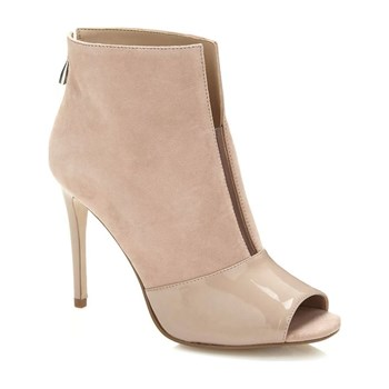 Guess - Funtime - Bottines en cuir - beige