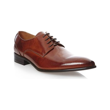 Uomo - Scarpe Richelieu in pelle - marrone scuro