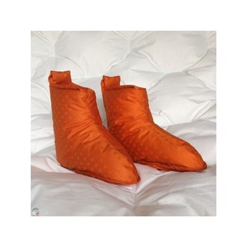 Castex couettes naturelles - Chaussons - orange