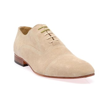 Studio - Derbies en cuir - beige
