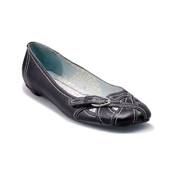 Irregular Choice - Ballerines en cuir - noir
