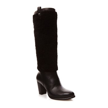 Ugg - Ava Exposed Fur - Stiefel - schwarz