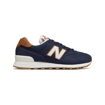 New Balance - ML574 - Sneakers in pelle - blu