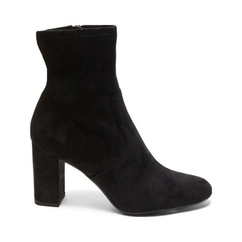 Steve Madden - Avenue - Bottines en velours - noir