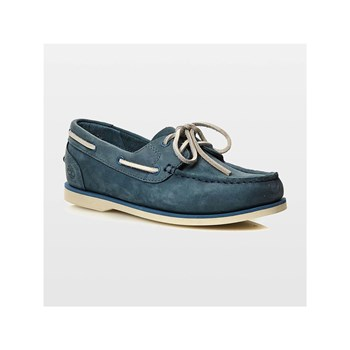 Timberland - Classic Boat Unlined - Bootsschuhe aus Leder - blau