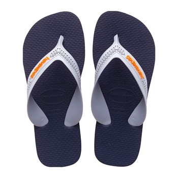 Havaianas - Kids Max - Tongs - orange/bleu marine