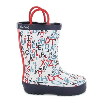 Be Only - Alphabet - Gummistiefel - blau